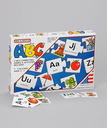 Mix & Match ABC Game