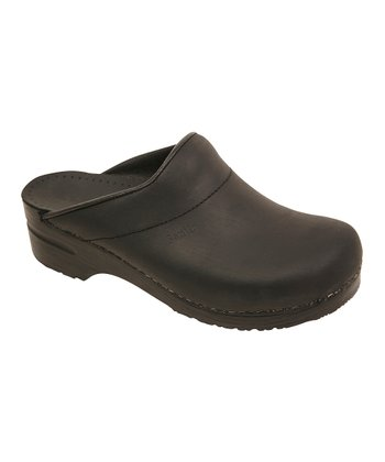 Black Oil Karl Original Clog - Men