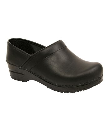 Black Linda Original Professional Clog - Women