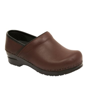 Brown Linda Original Professional Clog - Women