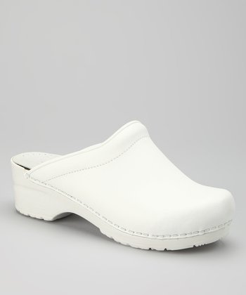 White Sonja Clog - Women