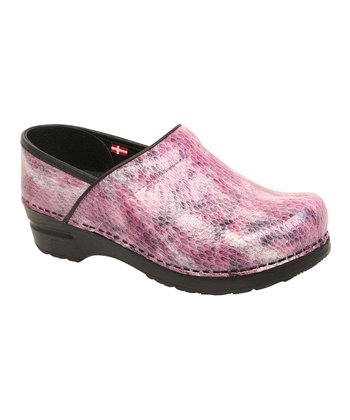 Purple Sonora Professional Clog - Women
