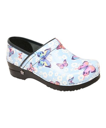 Ice Blue Love Song Professional Clog - Women