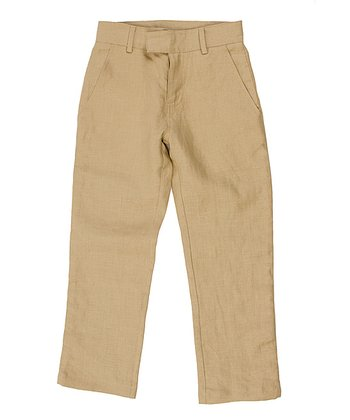 Sand Linen Pants - Toddler & Boys