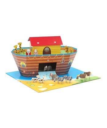Yellow & Brown Noah's Ark Play Set