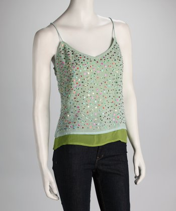 Mint Layered Tank
