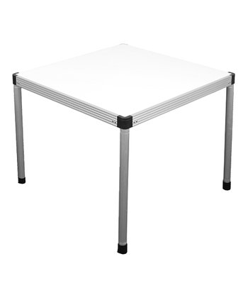 White Genius Card Table