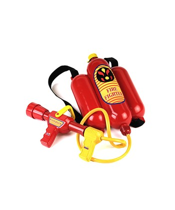 Red Firefighter Water Extinguisher Backpack