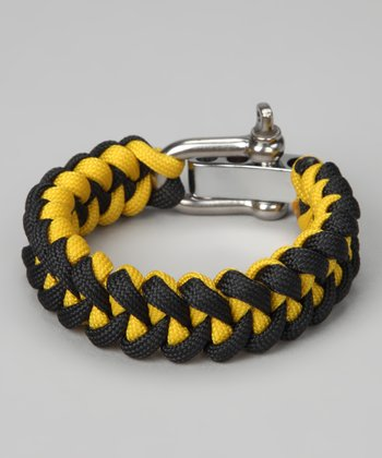 Yellow & Black Tiger Tooth Rescue Bracelet