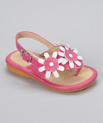 Laniecakes Hot Pink Alaina Squeaker Sandal