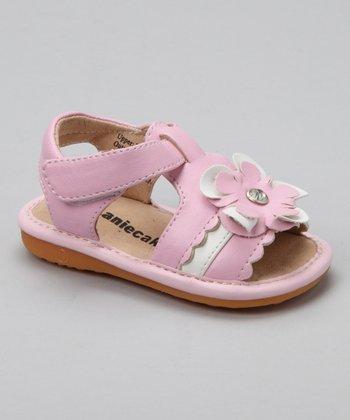 Laniecakes Light Pink Kenna Squeaker Sandal