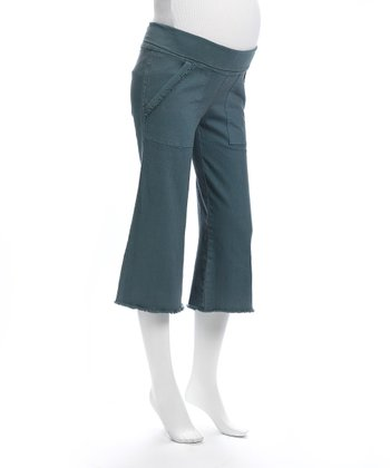 Juliet Dream Ocean Maternity Capri Pants