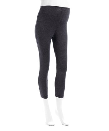 Charcoal Gray Maternity Leggings