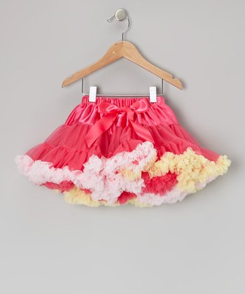 Pink & Yellow Pettiskirt - Toddler & Girls