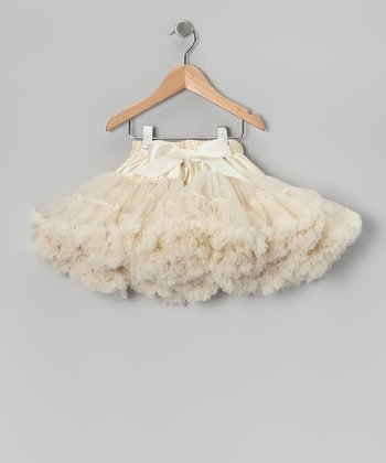 Tan Pettiskirt - Toddler & Girls