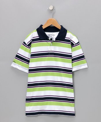 Green Gavin Polo - Boys