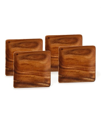 Square Plate - Set of Four