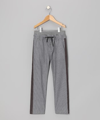 Sailor Gray Pinstripe Pants - Toddler & Boys