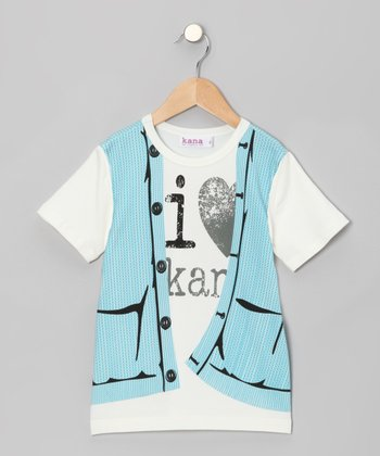 Ocean Sweater Vest Tee - Toddler & Boys