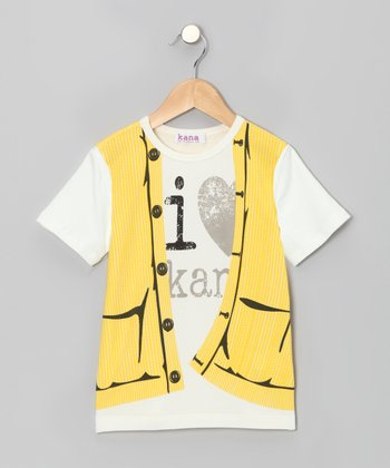 Sunshine Sweater Vest Tee - Toddler & Boys