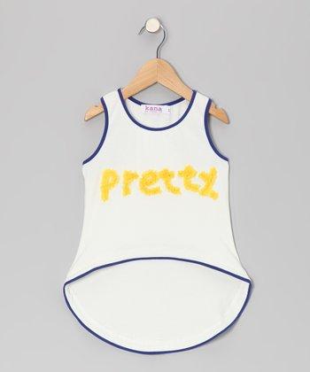 Sunshine 'Pretty' Racerback Hi-Low Tank - Toddler & Girls