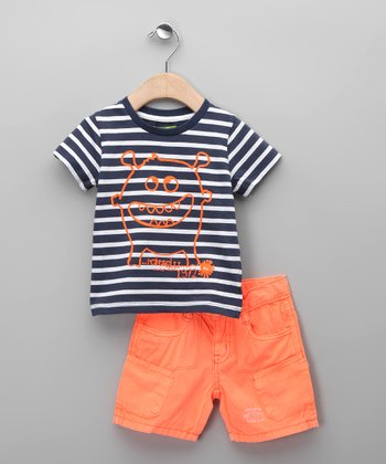 Naranja Cain Tee & Shorts - Infant