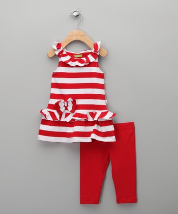 Rojo Cassen Tunic & Leggings - Infant, Toddler & Girls