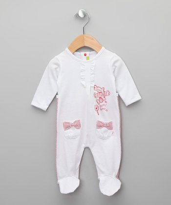Blanco Waku Footie - Infant