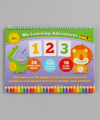 My Learning Adventures 123 Hardcover Activity Book