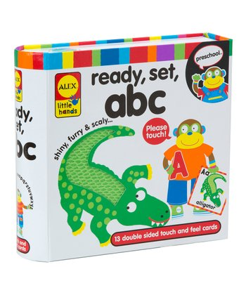 Touch & Feel Flash Cards - ABC