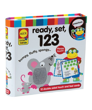 Ready, Set, 123 Flash Cards Set