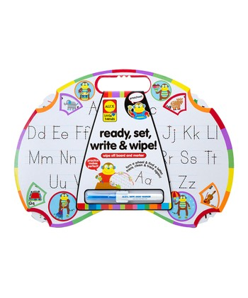 Ready, Set, Write & Wipe Set
