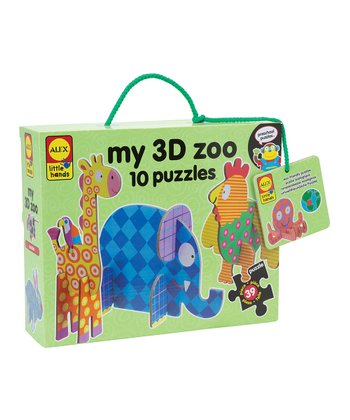 My 3-D Zoo Puzzle Set