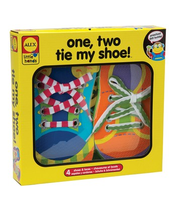 One, Two, Tie My Shoe Flash Cards Set