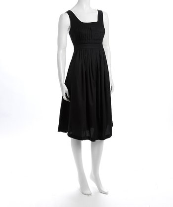 Black Marie Nursing Dress