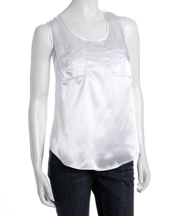 White Ann Nursing Tank