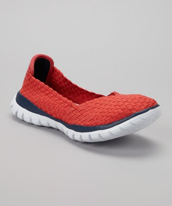 Red Skye Slip-On Sneaker