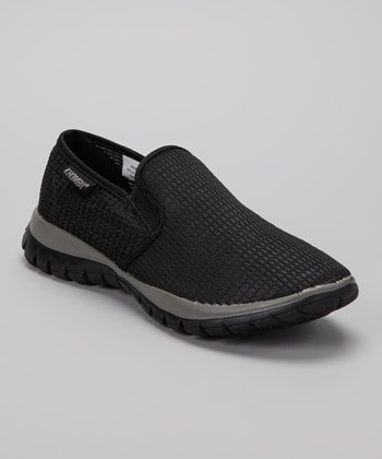 Black Cypris Slip-On Sneaker