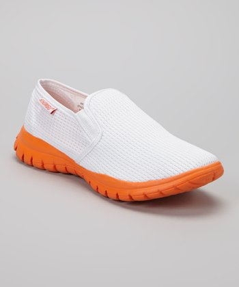 White Cypris Slip-On Sneaker