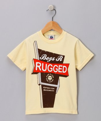 Yellow Boys Are Rugged Tee - Toddler & Boys
