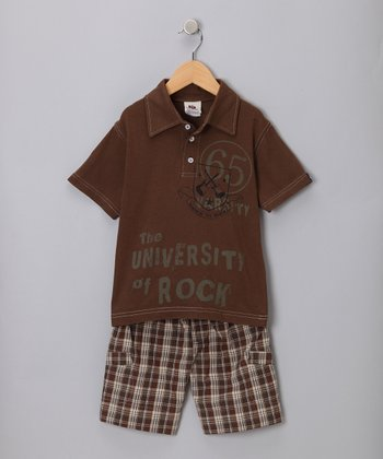 Cocoa Rock Polo & Shorts