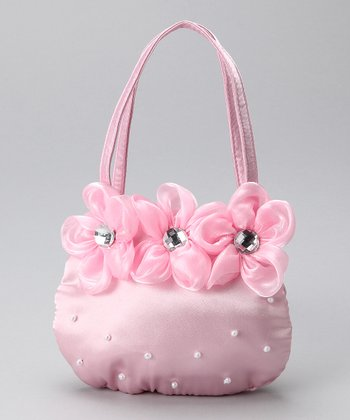 Light Pink Flower Purse