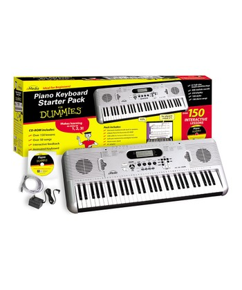 Piano for Dummies Keyboard Starter Set