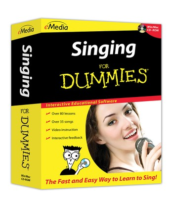 Singing for Dummies CD-ROM
