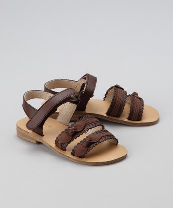 Brown Bow Sandal