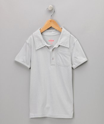 Gray Tree Polo - Infant, Toddler & Boys