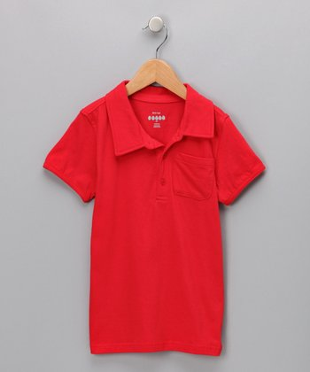 Corvette Red Tree Polo - Infant, Toddler & Boys