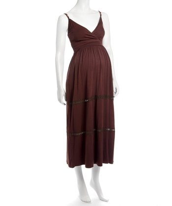 Earth Marissa Maxi Maternity & Nursing Dress
