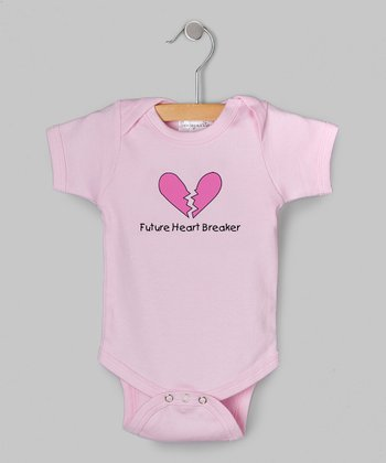 Pink 'Future Heartbreaker' Bodysuit - Infant