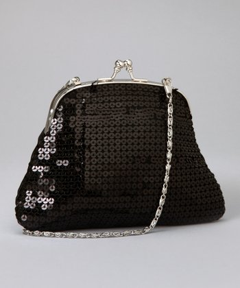 Black Sequin Purse